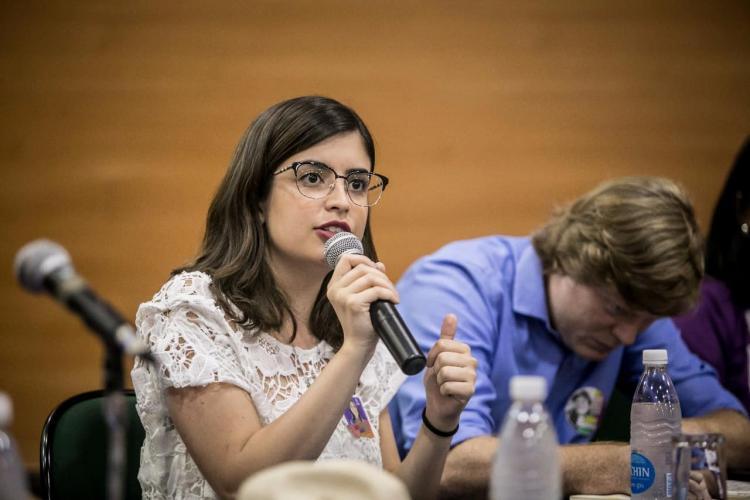Resultado de imagem para Tabata Amaral, do PDT de São Paulo