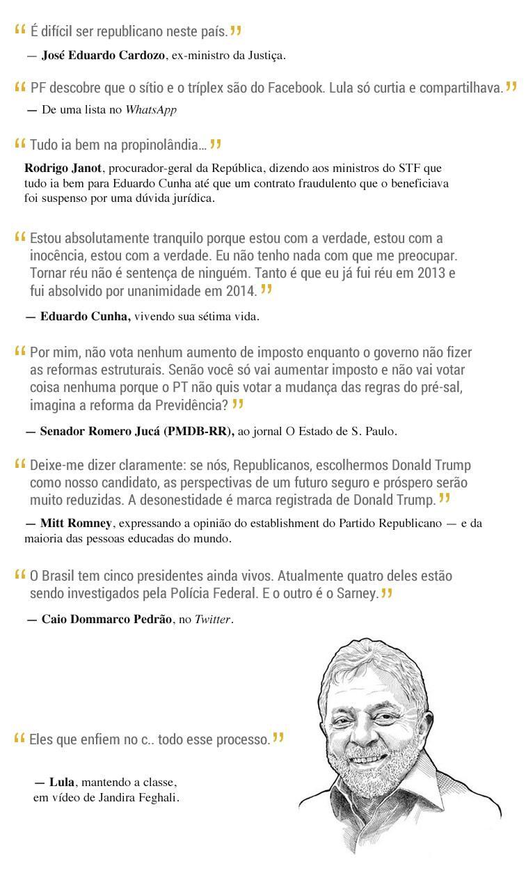 Frases Da Semana Brazil Journal